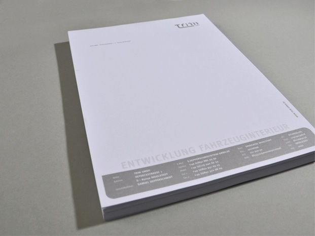 Trim GmbH Brief
