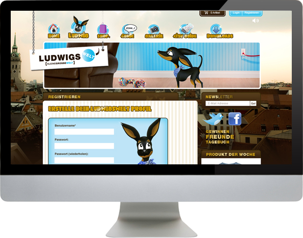 Ludwigswelt Webseite